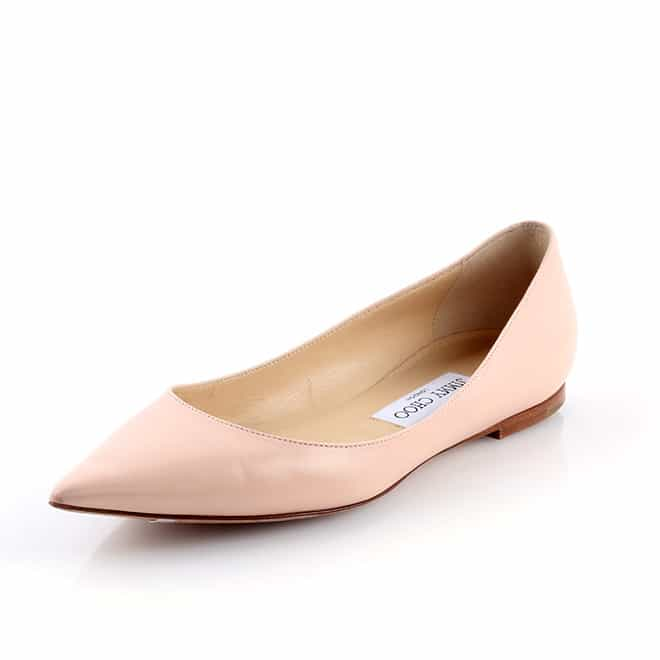 Top Rated Products Jimmy Choo Alina Pointy Flat 1